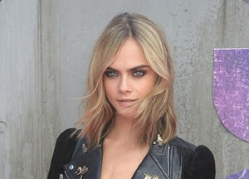Cara Delevingne In Racy Photoshoot For Charity