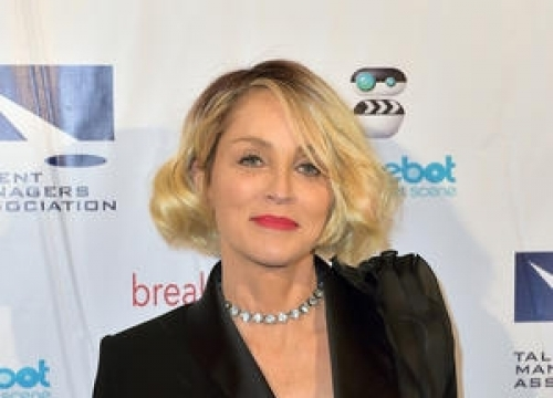 Sharon Stone Enjoys Vacation With New Man