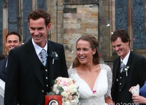 Tennis Ace Andy Murray Is A First-time Father