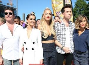Simon Cowell, Cheryl Fernandez-Versini, Cheryl Cole, Rita Ora, Nick Grimshaw, Caroline Flack and Olly Murs