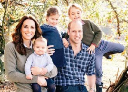 Prince William And Kate Release Family Xmas Card