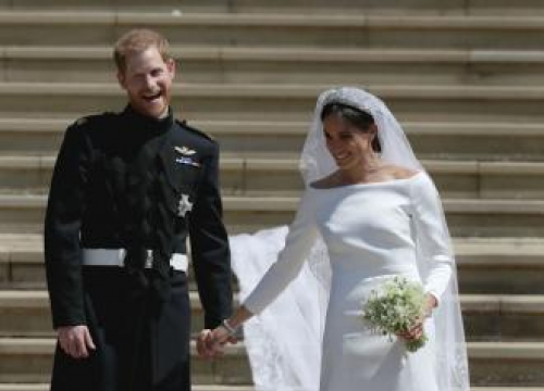 Duke And Duchess Of Sussex Laughed Through Vows Because Of Crowd Cheers