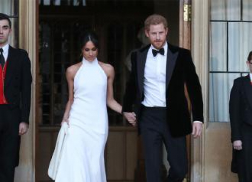 Prince Harry And Meghan Markle's Celebrations End With Fireworks