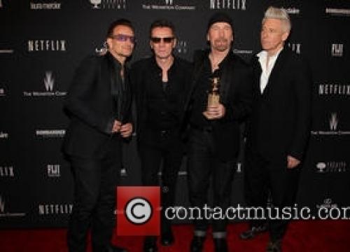 U2 Play Star-studded Gig At Tiny Los Angeles Venue