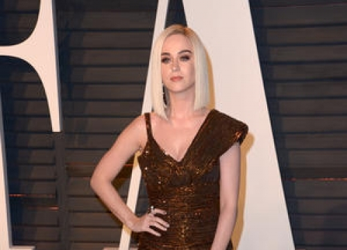 Katy Perry Exposes A Little Too Much In Cheeky Dress