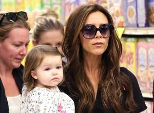 Victoria Beckham Donates Items From Harper's Wardrobe To Charity