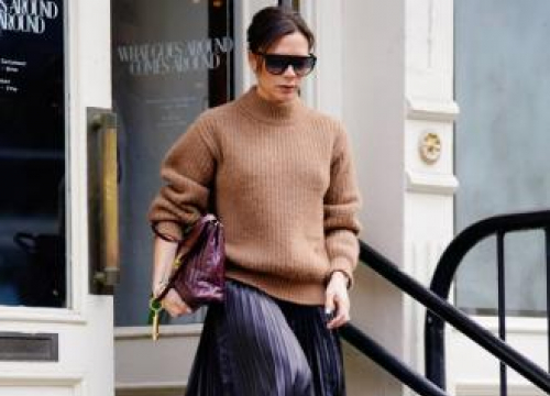 Victoria Beckham Pokes Fun At Herself With New T-shirt Line