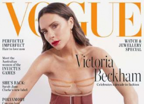 Victoria Beckham Cant 'be Bothered' To Have A Flat Tummy