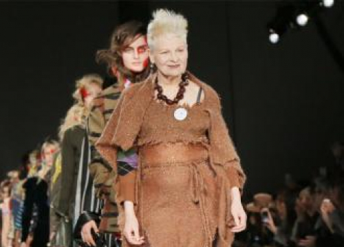 Vivienne Westwood T-shirts On Display In New Exhibition