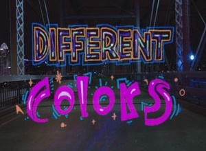 Walk The Moon - Different Colors [Lyric] Video