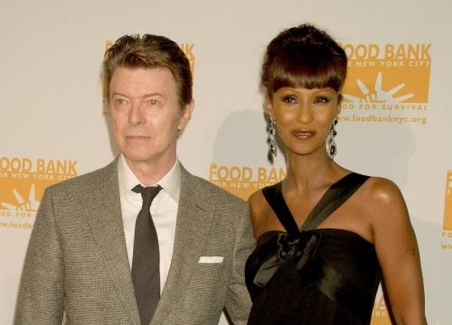 David Bowie's Widow Iman Breaks Silence