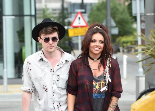 Singers Jesy Nelson And Jake Roche Delaying Wedding Plans
