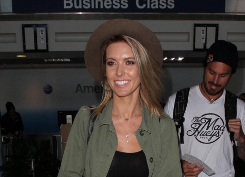 Audrina Patridge Drops Wedding Hint As She Debuts Baby Girl
