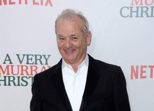 Bill Murray Cheers Son's Xavier Giant Killers On To Victory