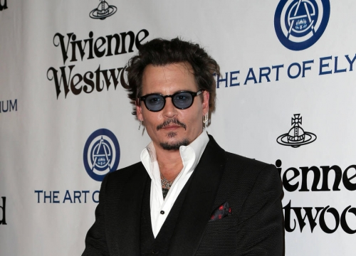 Johnny Depp Glad To Be Part Of 'Weird Spectacle' At The Grammys