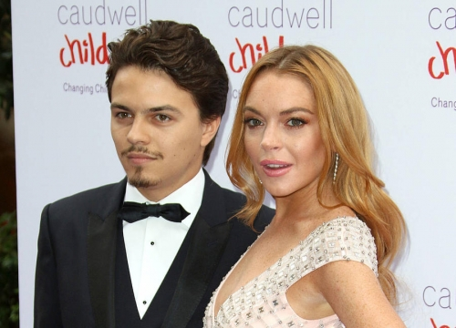 Lindsay Lohan Lashes Out At 'Fiance' In Online Rant