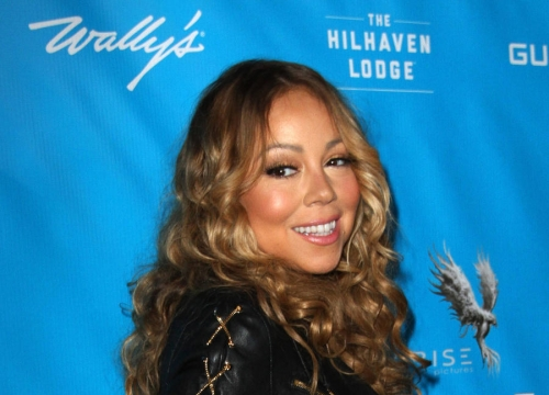 Mariah Carey Shows Off Her Stunning Figure In Latex Devil Outfit