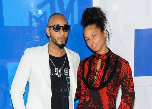 Swizz Beatz Defends Alicia Keys Over No Make-up Stance