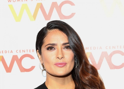 Salma Hayek Takes A Swipe At Donald Trump Over Bogus Dating Story