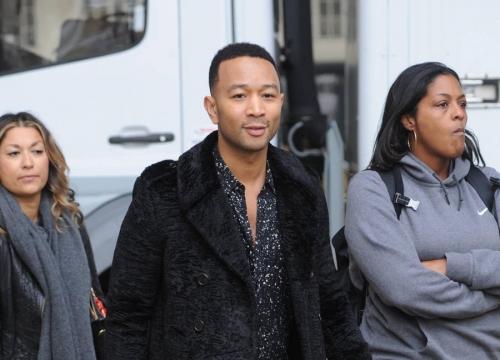 John Legend Offers Advice To Singing Hopefuls On British Tv Show