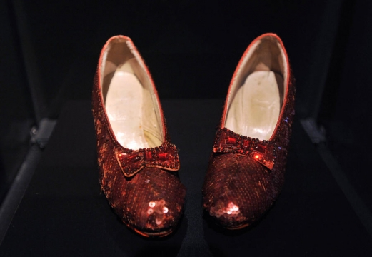 Museum Bosses Reach Kickstarter Goal To Preserve Wizard Of Oz Slippers