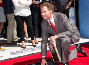 Will Ferrell receives Walk of Fame star