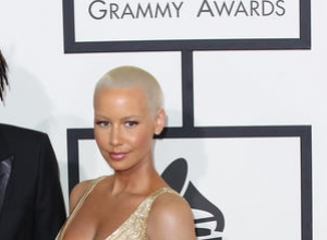 "Amber Rose Goes All Out For ""How to Be a Bad B****"" Book Cover"