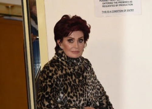 Sharon Osbourne Undergoing Physical Therapy For Trapped Nerve