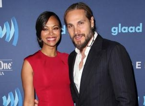 Zoe Saldana's Husband Took Her Name When They Got Married