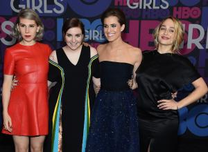 Lena Dunham And Adam Driver On Sight For 'Girls' Season Four Premiere