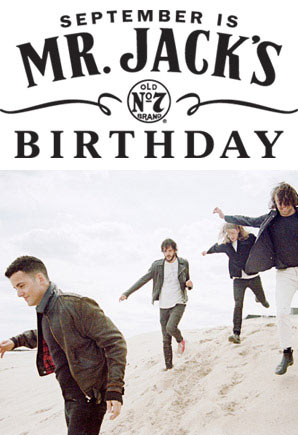 Win Tickets To Jack Daniel's Birthday Gig Featuring The Vaccines and More!