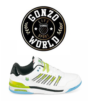 Win One Of 2 Pairs Of K-Swiss Si-18 Trainers With Gonzo