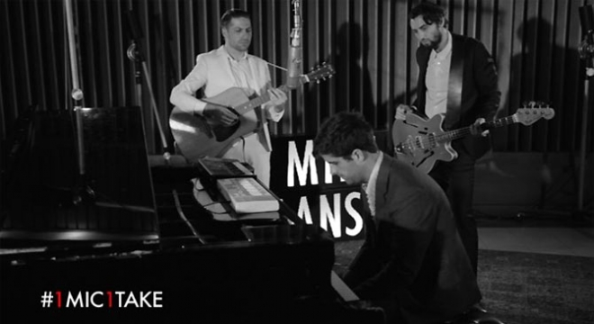 Mini Mansions - Heart Of Stone [1 Mic 1 Take] Video