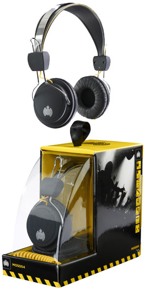 Win a pair of Ministry of Sound MOS004 Headphones