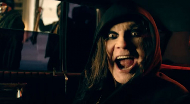 Ozzy Osbourne - Straight to Hell Video