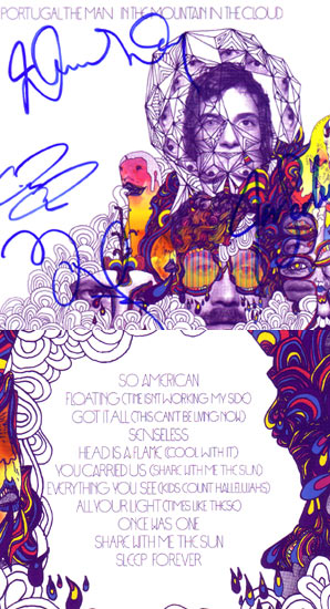Win A Signed Copy Of Portugal. The Man's Album 'In The Mountain In The Clouds'.