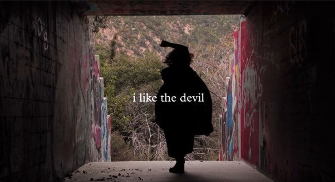 Purity Ring - I Like The Devil Lyric Video