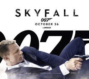 Win a copy of the official Skyfall soundtrack composed by Thomas Newman