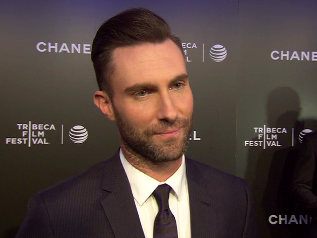 Adam Levine - Begin Again Red Carpet Interview