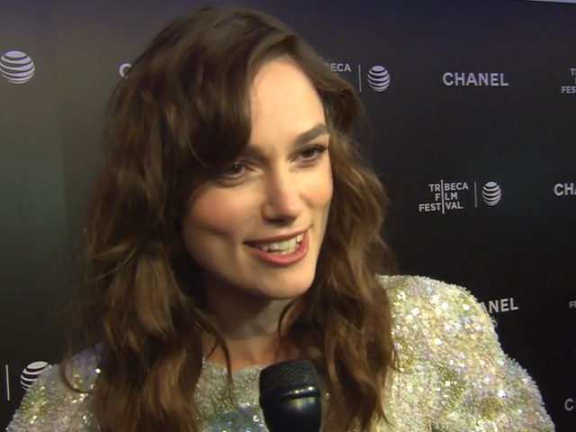 Keira Knightley - Begin Again Red Carpet Interview