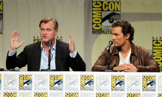 Christopher Nolan and Matthew McConaughey