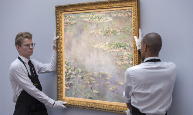 Claude Monet Nympheas Auction Rob Stothard
