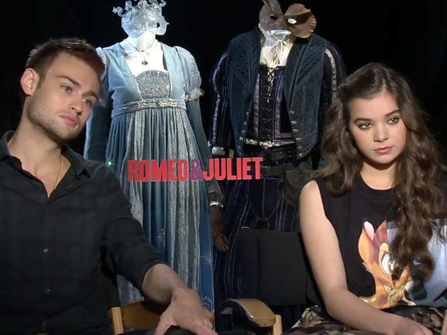 Douglas Booth And Hailee Steinfeld - Romeo And Juliet Video Interview