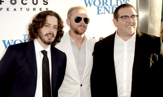 Edgar Wright Simon Pegg