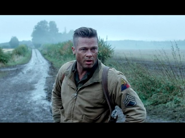 Fury - International Trailer and Featurette
