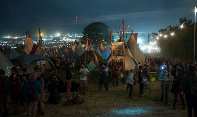 Glastonbury 2014 atmospher