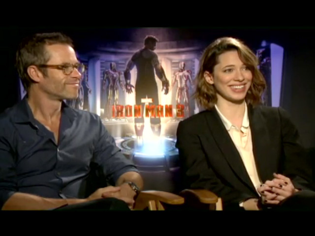 Guy Pearce And Rebecca Hall - Video Interview