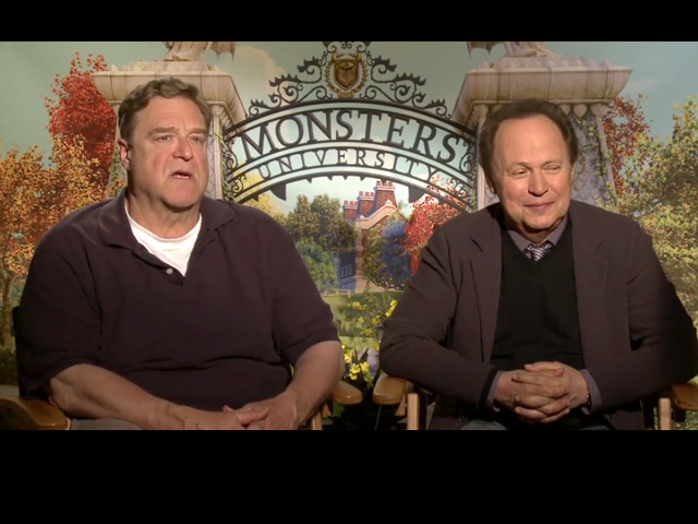 billy crystal and john goodman meet their monsters inc characters