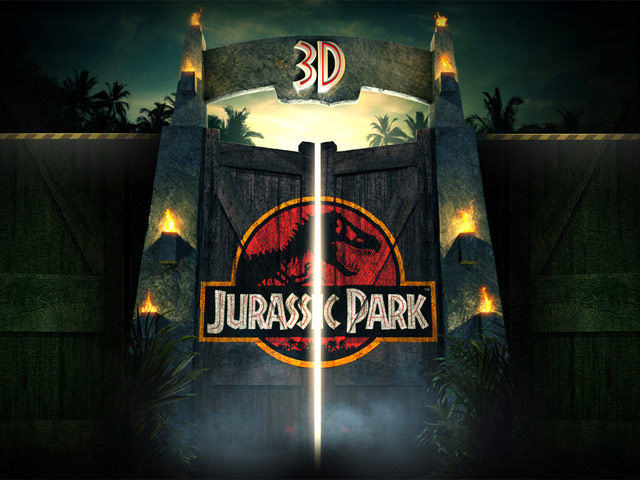 Jurassic Park 3d Trailer