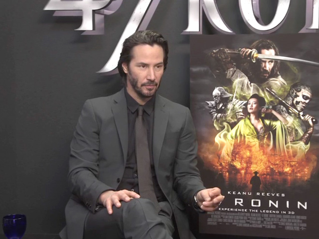 Keanu Reeves On Being The '47 Ronin' Samurai Outcast, The